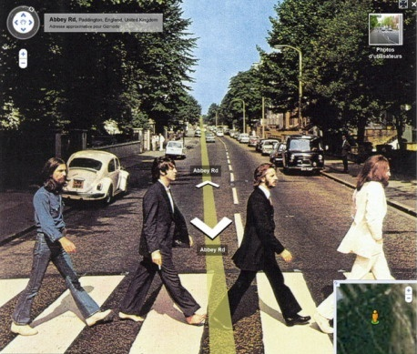 abbey road street view
